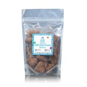 Peeak Therapeutics CBD dog Bacon flavored treats